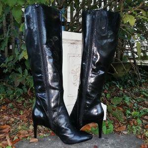 Nine West high heel boots